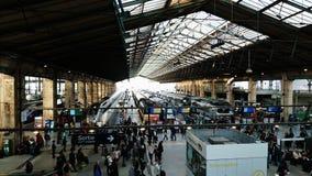 Gare de nord stock photo