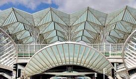 Gare DE Oriente station, Lissabon, Portugal Royalty-vrije Stock Fotografie