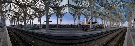 Gare de Oriente Train Station, Lisbon, Portugal