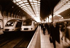 Gare de Paddington à Londres Photo libre de droits