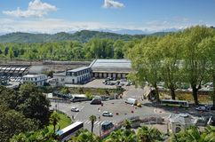 Railway station in the French city Pau Royalty Free Stock Photography