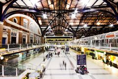 Gare de rue de Liverpool Photographie stock