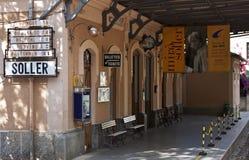 Gare de Soller - format CRU Photographie stock libre de droits