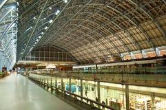 Gare de St.Pancras Photos libres de droits