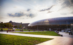 Gare de Strasbourg, the main railway station of Strasbourg city, Stock Photography