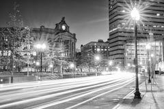 Gare de sud de Boston images libres de droits
