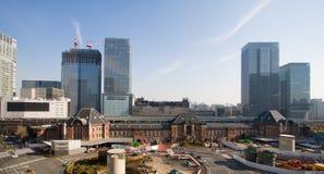 Gare de Tokyo de ci-avant Photographie stock libre de droits