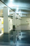 Gare de tramway d'aéroport Images stock