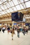 Gare de Victoria, Londres Photographie stock libre de droits