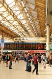 Gare de Victoria, Londres Image libre de droits