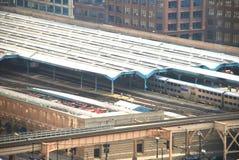 Gare des syndicats de Chicago Photos stock