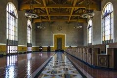 Gare des syndicats de Los Angeles Photographie stock libre de droits