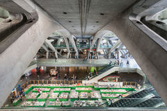 Gare do Oriente Royalty-vrije Stock Fotografie