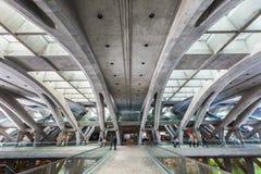 Gare do Oriente Stock Afbeeldingen
