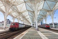 Gare do Oriente Royalty-vrije Stock Foto