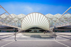Gare do Oriente Royalty-vrije Stock Afbeelding