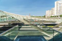 Gare do Oriente of de Post van Lissabon Oriente Royalty-vrije Stock Fotografie