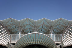 Gare do Oriente, Lisbon Royalty Free Stock Photos