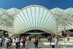 Gare do Oriente In Lisbon Stock Photos