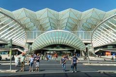 Gare do Oriente In Lisbon Royalty Free Stock Photos