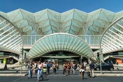 Gare do Oriente In Lisbon Stock Photography
