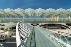 Gare do Oriente In Lisbon Stock Photo