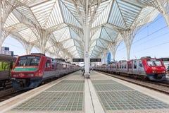 Gare do Oriente Royalty Free Stock Photos