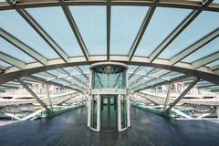 Gare do Oriente Royalty Free Stock Images