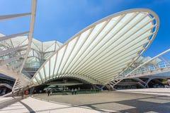 Gare Do Oriente Royalty Free Stock Photography