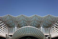 Gare do Oriente, Lissabon Royalty-vrije Stock Foto's