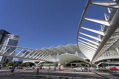 Gare do Oriente - Park of Nations - Lisbon Stock Photos