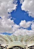 Gare do Oriente railway station in Lisbon Stock Images