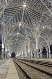 Gare do Oriente. Train station, Lisbon,  Portugal Stock Photos