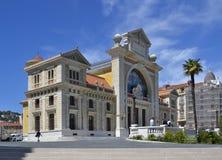 Gare Du Юг, бывший железнодорожный вокзал в славном стоковые изображения