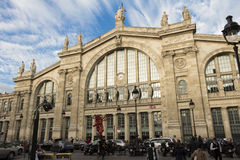 Gare du Nord, Париж, Франция Стоковые Фотографии RF