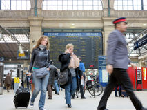 gare du Nord巴黎 免版税图库摄影