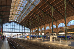 Gare du Nord Stockbild
