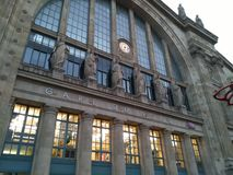 Gare du nord Fotos de Stock Royalty Free