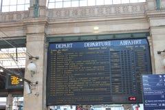 Gare du Nord París Imagen de archivo libre de regalías