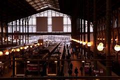 Gare du Nord, Parijs Stock Afbeelding