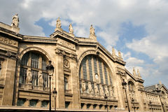 Gare du Nord, Parijs Stock Fotografie