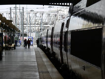 Gare du nord Parijs stock fotografie
