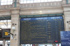 Gare du Nord Paris Imagem de Stock Royalty Free