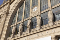 Gare du nord, Paris Stock Photos