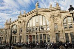 Gare du Nord, Paris, Frankrike Royaltyfria Foton