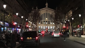Gare du Nord Paris. Gare du Nord train station from the street in Paris France Royalty Free Stock Photos
