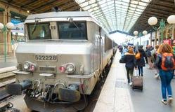 Gare du nord Paryża Obraz Stock