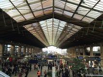 Gare du nord Paryża Zdjęcie Royalty Free