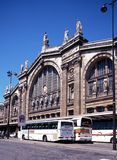 Gare du Nord Railway Station, Paris. Royalty Free Stock Images