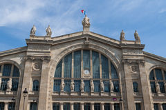 Gare Du Nord Royalty Free Stock Photography